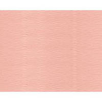 Бумага гофрированая (крепированая) 180 г/м2, (ДхШ) 125см.х50см. (1\2 заводского стандартного рулона) Италия, бледноперсиковый 548
