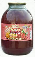 Сок Яблочно-Клубничный
