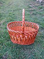 Корзина плетена для овочів, фото 1