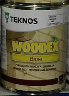 Грунт антисептик WOODEX BASE TEKNOS, 9л. Доставка НП бесплатно!