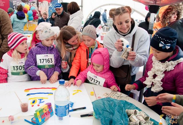 Картинка массовый детский праздник в Киеве
