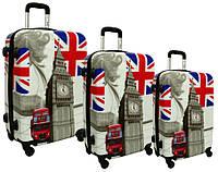 Чемодан сумка RGL набор 3 штуки British