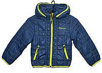 Демисезонная куртка для мальчика 2-5 лет Jingpin Sport синяя