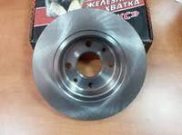 Тормозной диск ВАЗ 2110, ВАЗ 2112, Калина, Приора  вентилируемый /14 дюймов/ (Триал-Спорт)