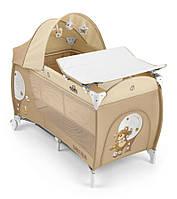 Манеж-кровать Cam Daily Plus Бежевый (L113-C219)