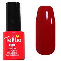 Гель-лак Tertio 004  Кораллово-красный эмалевый, 10 мл.