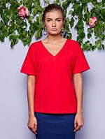 Женская красная футболка Ruby