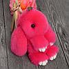 Брелок меховой кролик , фото 3