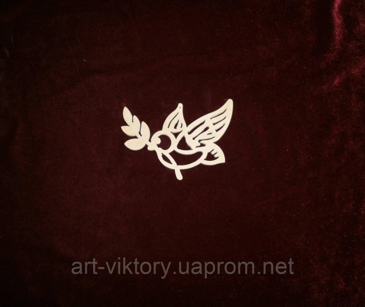 Птичка (11 х 9 см), декор