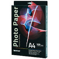 Папір Tecno A4 180g 100 pack Glossy, Premium Photo Paper CB (PG 180 A4 CP)