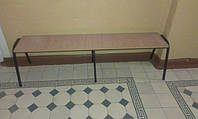 Лавка медицинская для посетителей 3-х местная, фото 1