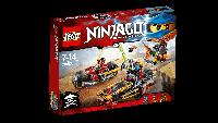 Конструктор Лего LEGO Ninjago Погоня на ниндзяциклах 70600
