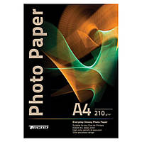 Папір Tecno A4 210g 50 pack Glossy, Premium Photo Paper CB (PG 210 A4 CP50)
