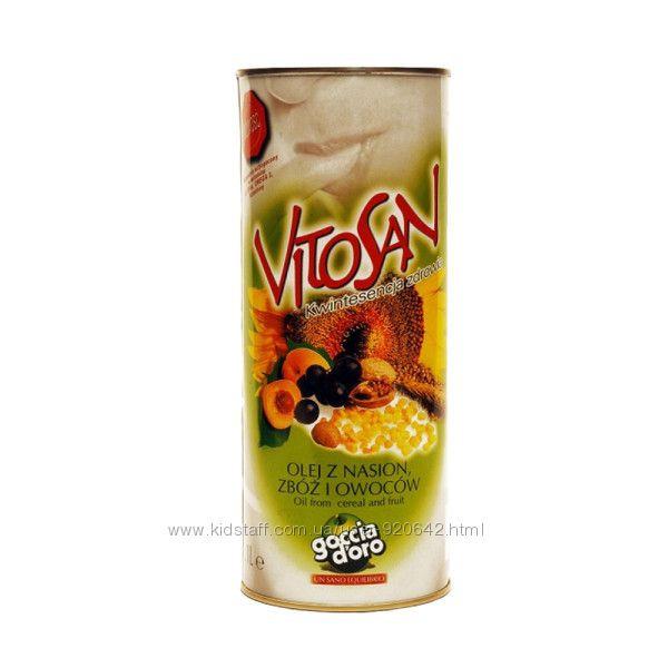 Масло Vitosan Goccia doro 1л. из семян зерновых и фруктов