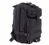 Рюкзак тактический штурмовой 26L чёрный