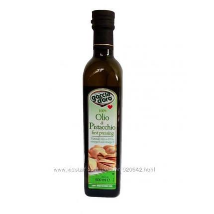 Фисташковое масло Goccia doro 0. 5л Италия, фото 2