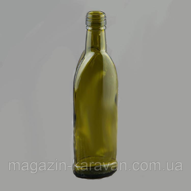 "Бутылка оливковая 0,25 л ""Лепесток"""