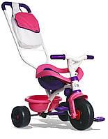 Велосипед трехколесный 3 в 1 с ручкой Smoby 444245