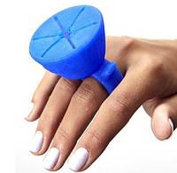Силиконовый держатель для лака для ногтей. Цвет - микс