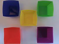 Формы для выпечки силиконовые микс 7*3 см