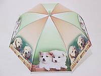 Детский зонт с собачками 4-10 лет