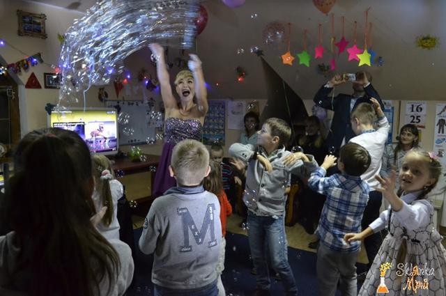 Картинка Шоу мыльных пузырей в Киеве