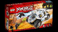 Конструктор Лего Lego Ninjago Внедорожник титанового ниндзя 70588