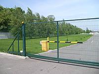 Ворота металлические Заграда 2,4х4,0 м