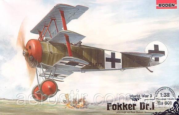 Fokker Dr.I 1/32 RODEN 601