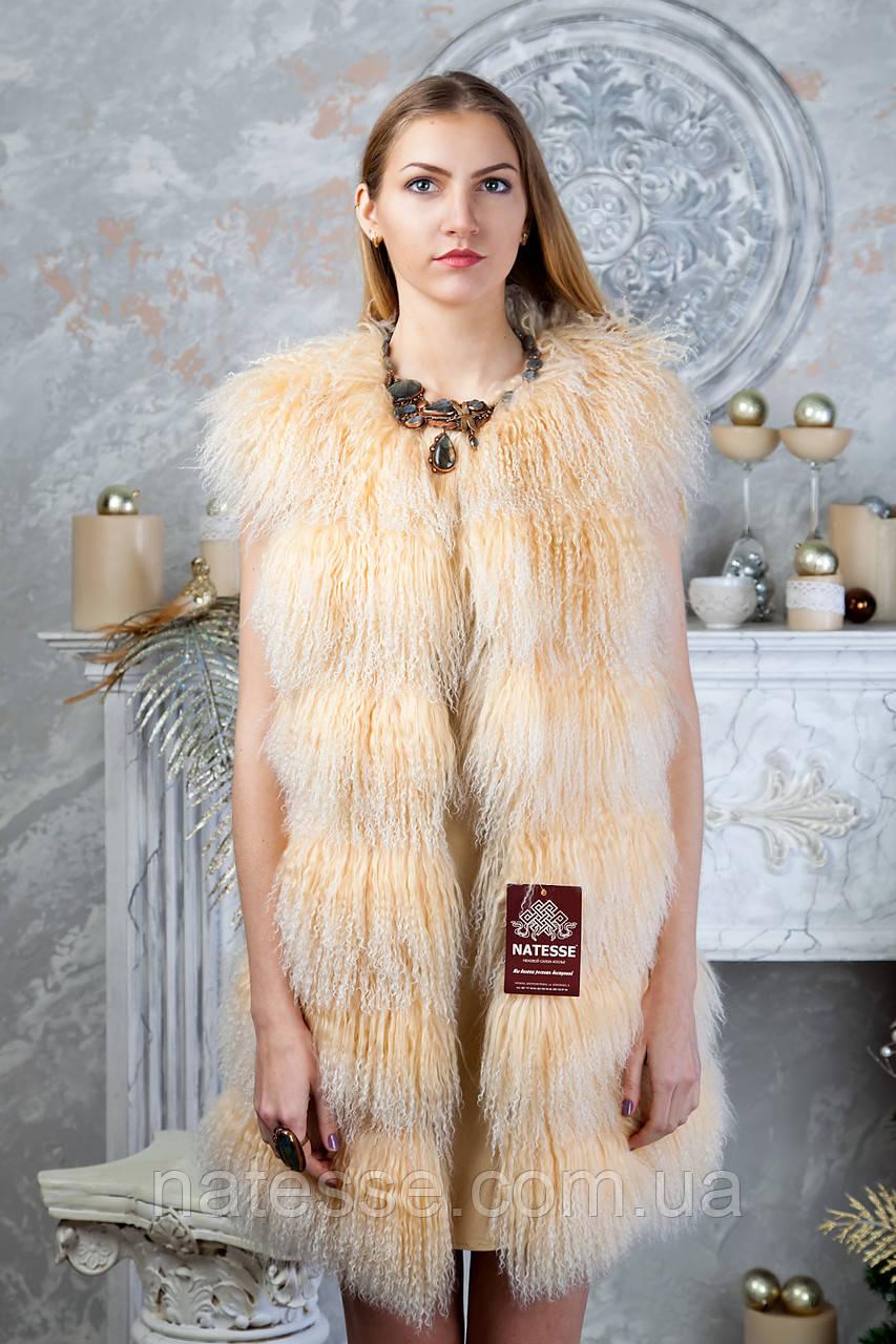 "Жилет из ламы ""Ната"""