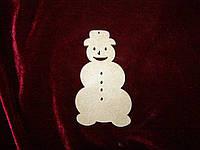 Снеговик (6,5 х 12 см), декор