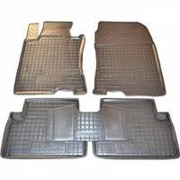 Коврики резиновые модельные Honda Accord 08- 13  (5шт) Avto-Gumm (11153)