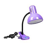 """Настольная лампа на прищепке """"Сирень"""""""