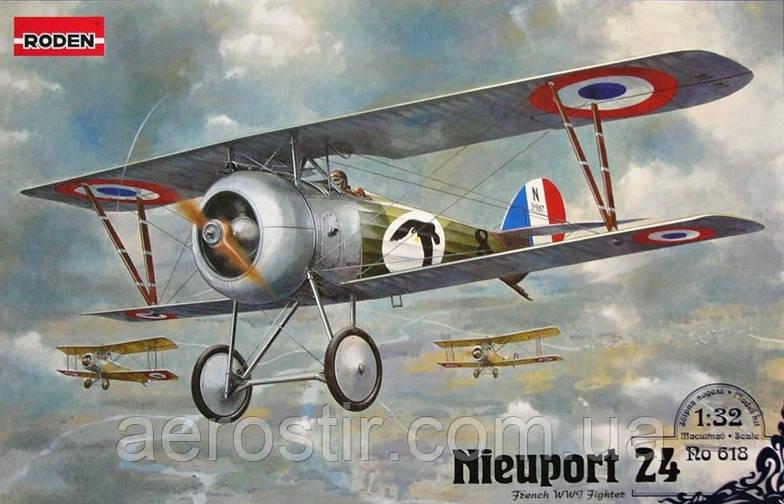 Nieuport 24 1/32 RODEN 618