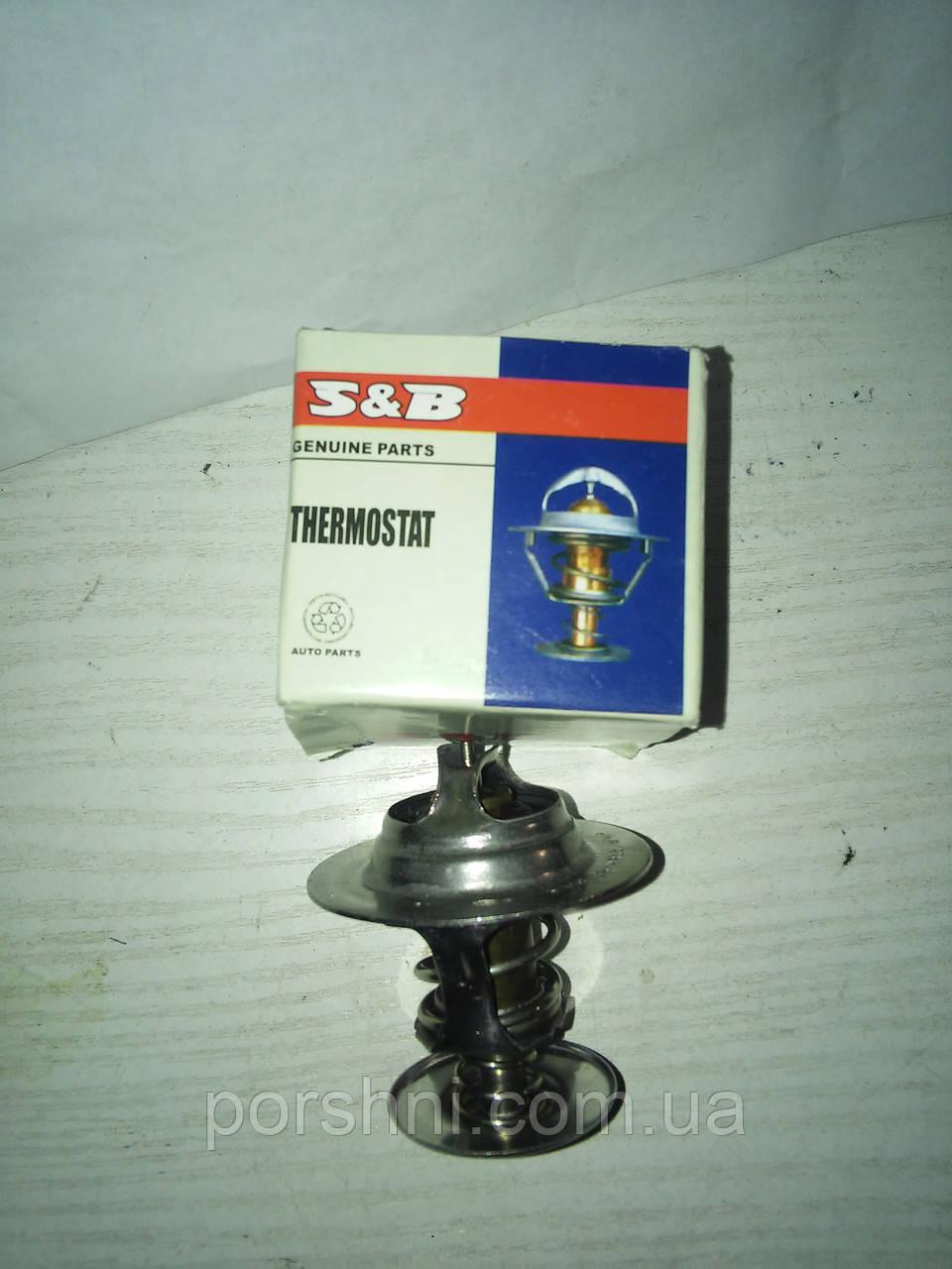 Термостат  Ford Scorpio  2.4 - 2.9 V 6  1,6 - 2,0 Zetec .Тransit  92 -- S&B  89FF8575AB