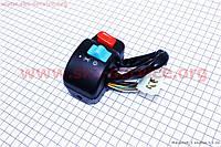 Блок кнопок на руле правый под дисковый тормоз  для скутера Wind