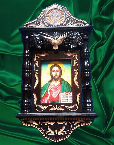 Ікона в кіоті ручної роботи, фото 2