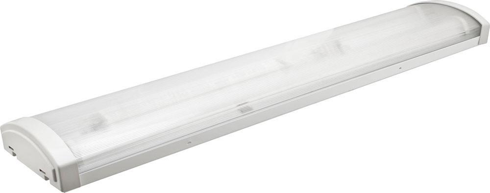Корпус светильника ЛПО 2х1200 мм для светодиодных LED ламп, накладной, ореол 20