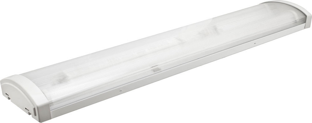 Корпус светильника накладного ЛПО 2х600 мм для светодиодных LED ламп