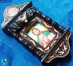 Икона в киоте ручной работы, фото 2