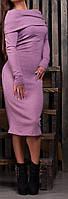 """ПП Украина Стильное женское платье-чулок """"Шаль"""", платье до 50 размера"""