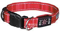 Ошейник Trixie 13071 Illuminous USB светоотражающий M-L 40-50 см 25 мм Красный, фото 1