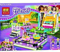 Конструктор Bela Friends 10560 «Парк развлечений: Аттракцион «Автодром»», 429 дет.
