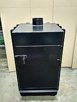 Печь- буржуйка дровяная Канада -12- 12 кВт (4мм)