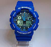 Часы наручные мужские CASIO G-SHOCK GA-100 5081 синие