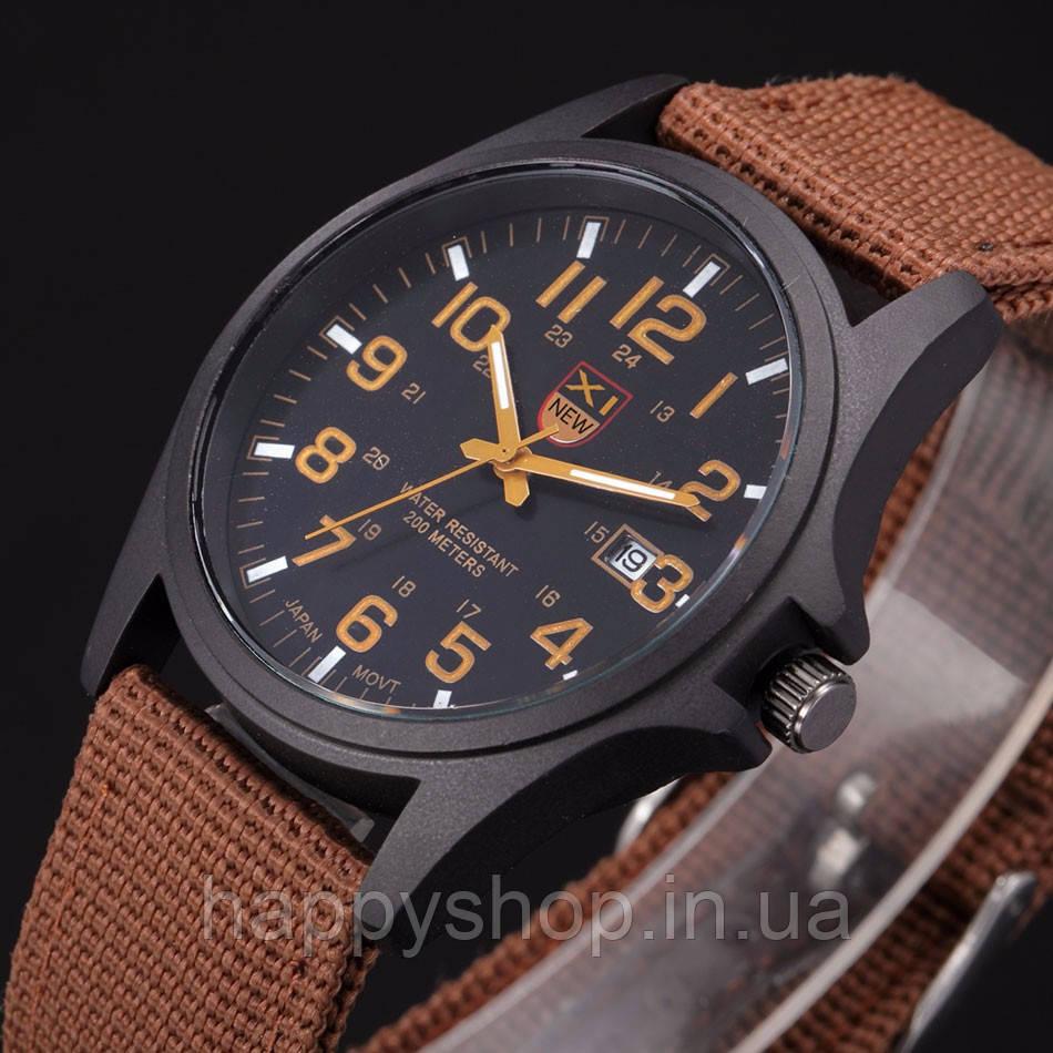 Часы мужские кварцевые XINEW (Коричневые)