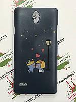 Чехол для Huawei Ascend G700 с принтом (Влюбленная парочка)