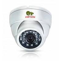 Камера AHD купольная Partizan CDM-223S-IR HD Kit, 1 Мп