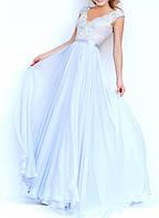 DL-596-1c Свадебное Пышное Платье в пол