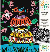 Художественный комплект для рисования Забавные животные, Djeco